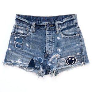 LUCKY BRAND Women's Hi Rise Jean Shorts 00 /24